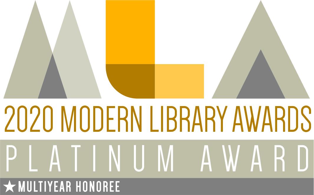 2020 Modern Library Awards - Platinum Award, Multiyear Honoree