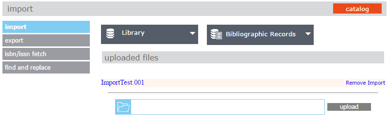 Import new records into Mandarin M5 - Mitinet Library Services
