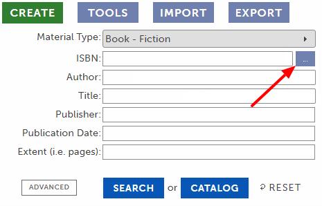 Batch Search button